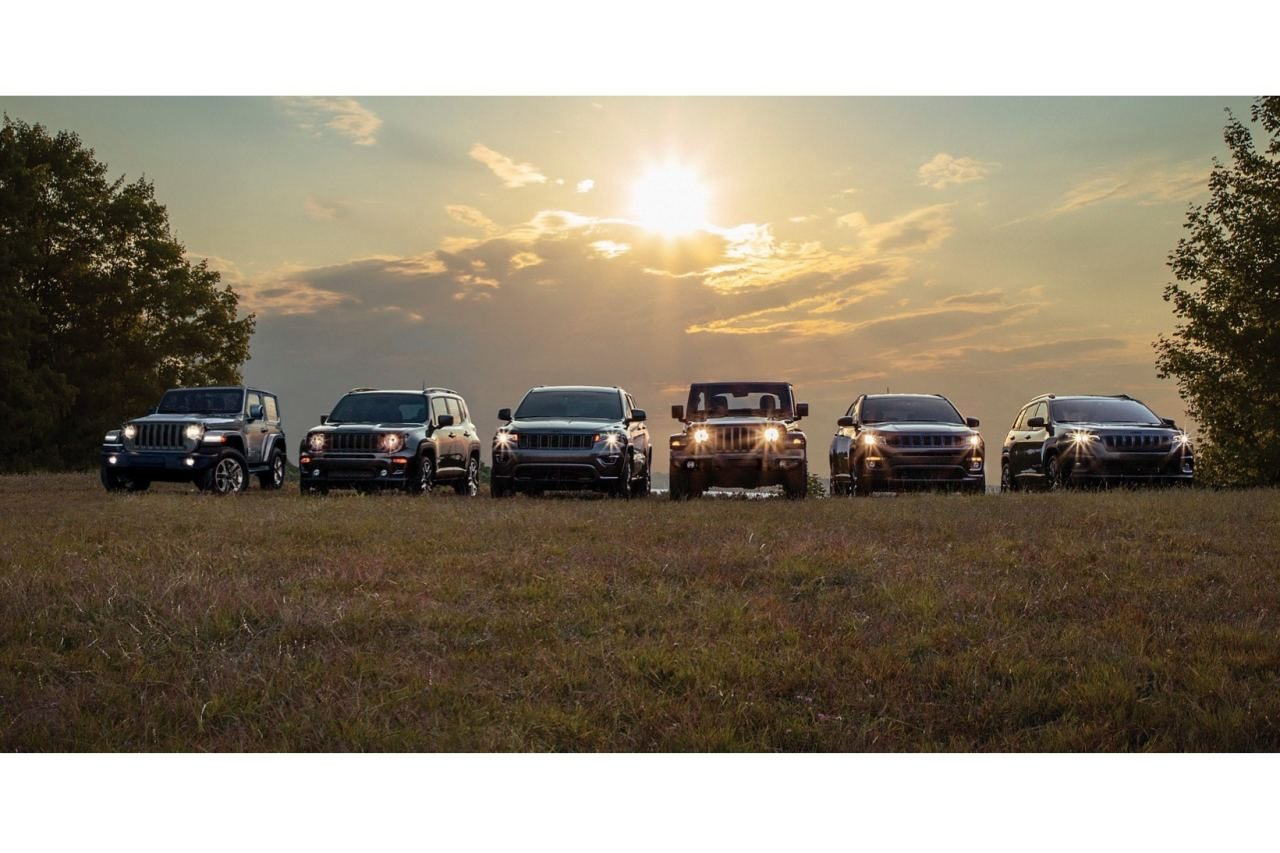 """ジープ、主力4車種にブランド80周年記念の限定車""""80th Anniversary Edition""""を設定"""