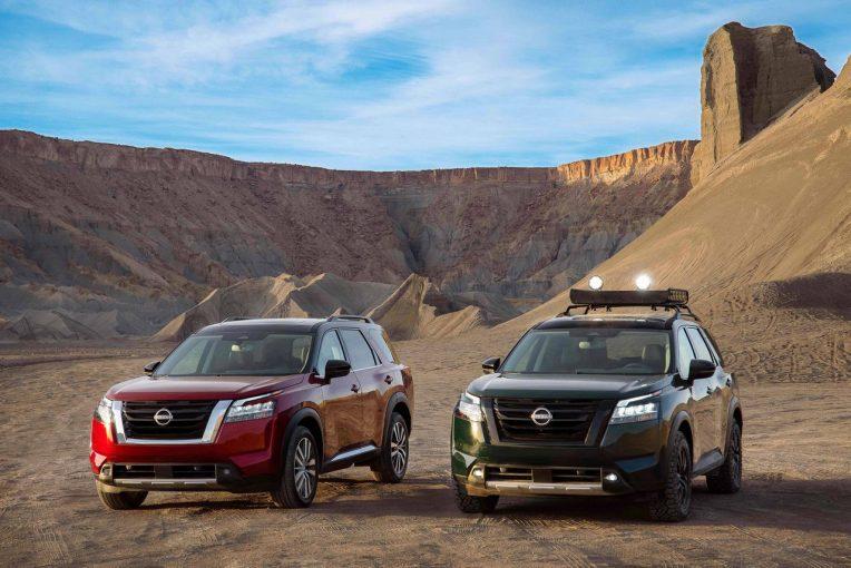 クルマ   ニッサン、大型SUV『パスファインダー』をフルモデルチェンジ。北米で21年夏以降発売