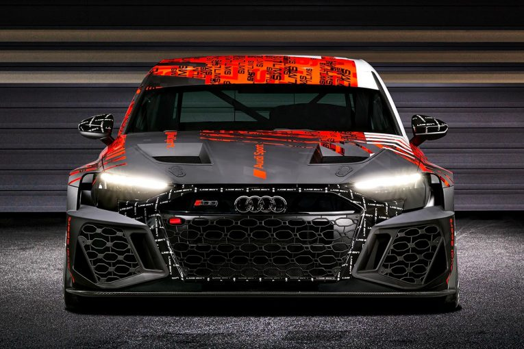 海外レース他   アウディ、第二世代となるTCRレーシングカー、新型RS3 LMSをワールドプレミア