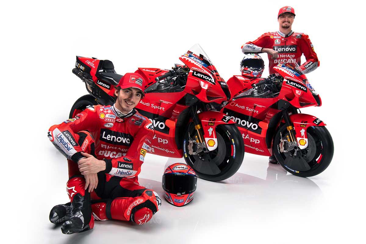 MotoGP   ドゥカティ・レノボ・チーム 2021年