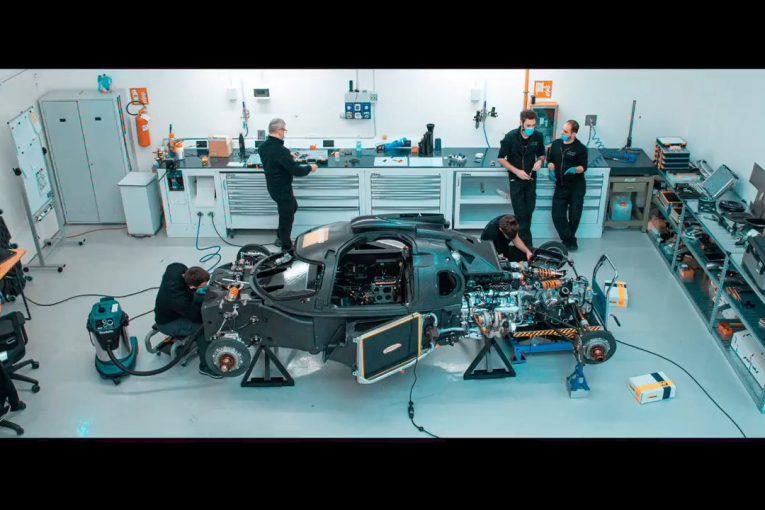 ル・マン/WEC | 『グリッケンハウス007 LMH』初始動。V8ツインターボエンジンに火入れ/WEC