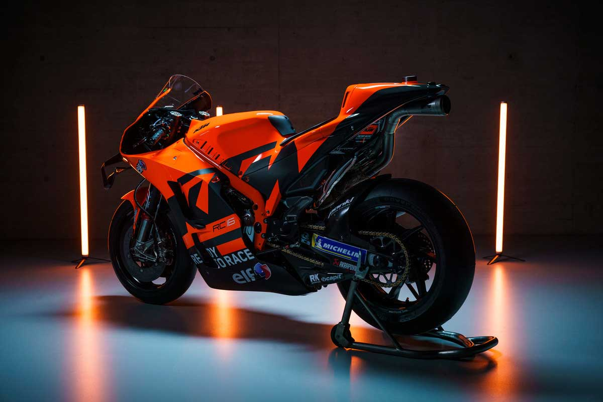 2021年MotoGP:KTM RC16(テック3KTMファクトリー・レーシング)