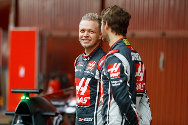 2017年F1バルセロナテスト ケビン・マグヌッセン(ハース