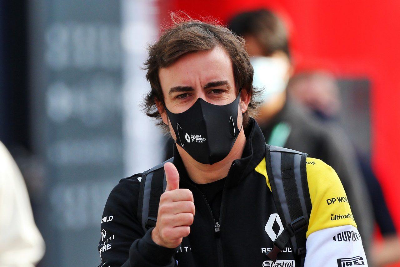 2020年F1エミリア・ロマーニャGPでのフェルナンド・アロンソ