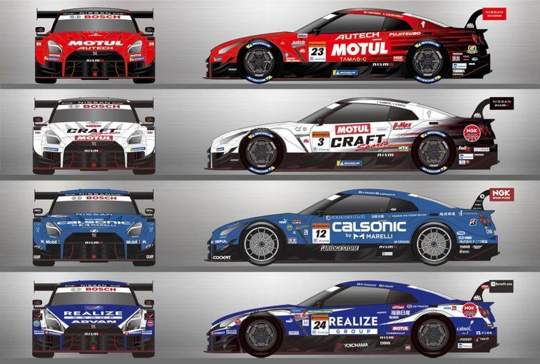 スーパーGT | ニッサン/ニスモ、スーパーGT GT500クラスの参戦チーム体制とカラーリングを発表