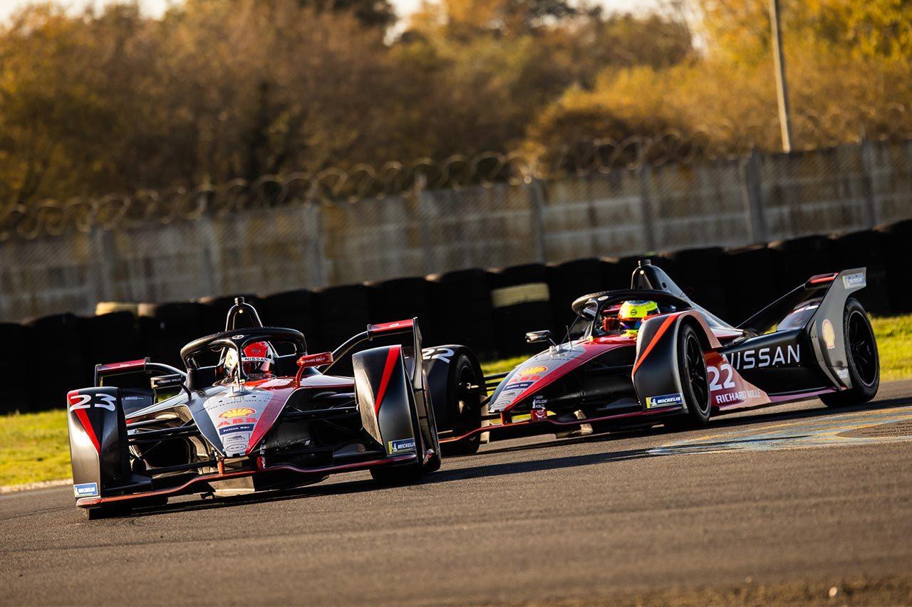ニッサン/ニスモ、フォーミュラEシーズン7に挑む。2台の車名を『アリア』と『リーフ』に