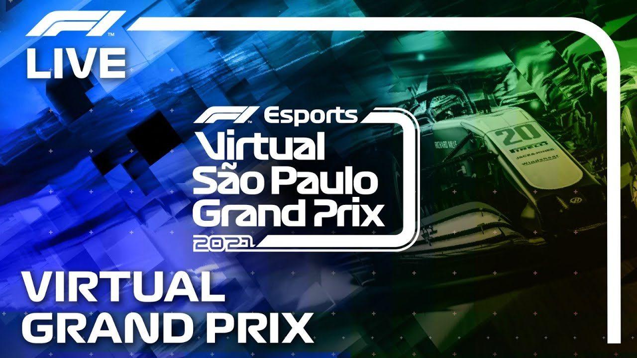 F1バーチャルGP最終戦ブラジル:ラッセルが14番手から優勝。ハース&エンツォ・フィッティパルディがチャンピオンに