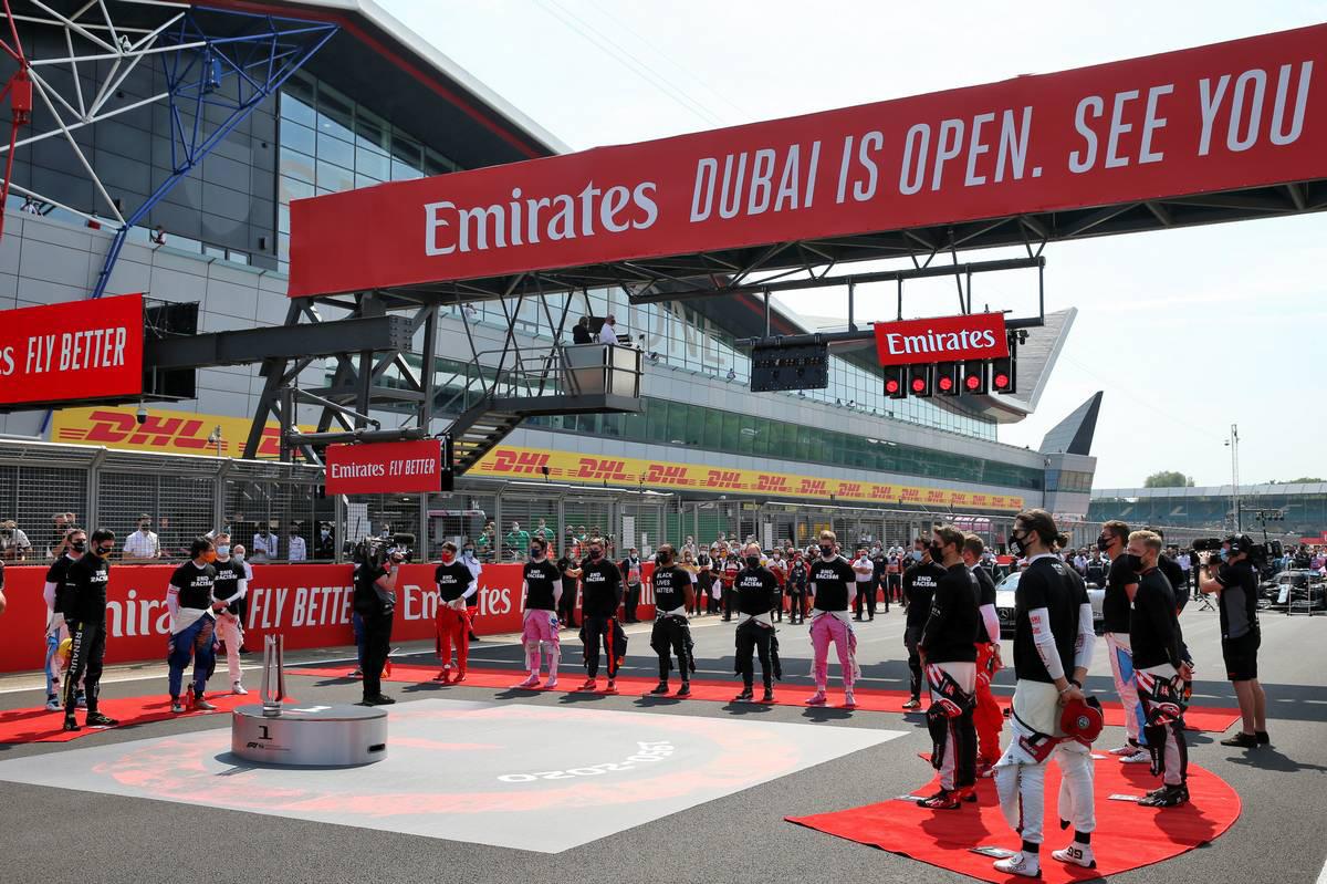 2020年F1第5戦70周年記念GP 国歌斉唱