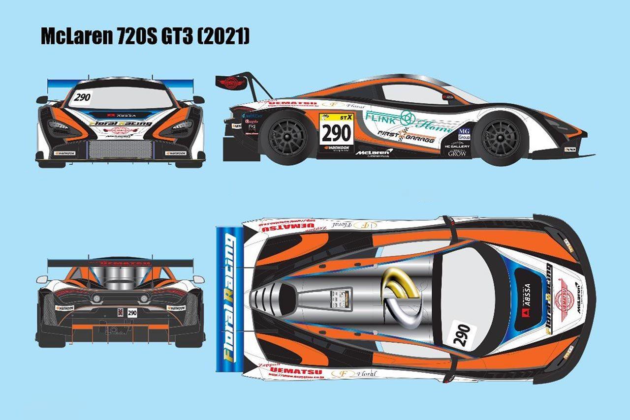 スーパー耐久ST-Xにマクラーレンが登場。Floral Racing with ABSSAが参戦を発表
