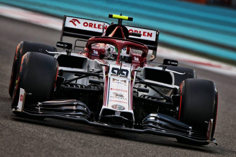 F1   アルファロメオF1の2021年型マシン『C41』は「フロントが独特で美しい」とジョビナッツィ