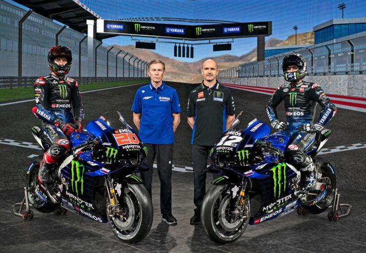 MotoGP | モンスターエナジー・ヤマハMotoGPが2021年型マシン『YZR-M1』公開。クアルタラロは初のファクトリーチーム