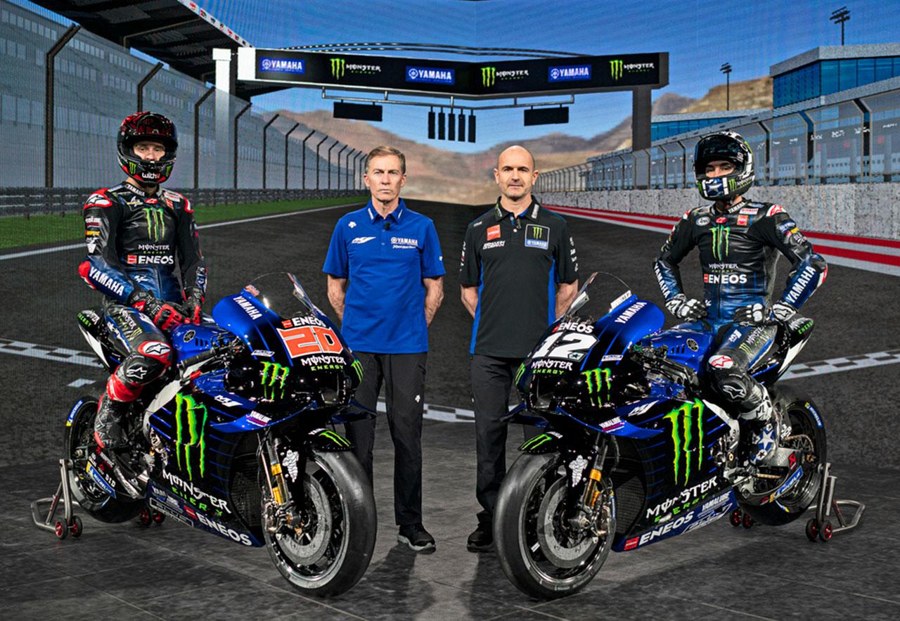 MotoGP   モンスターエナジー・ヤマハMotoGP 2021年
