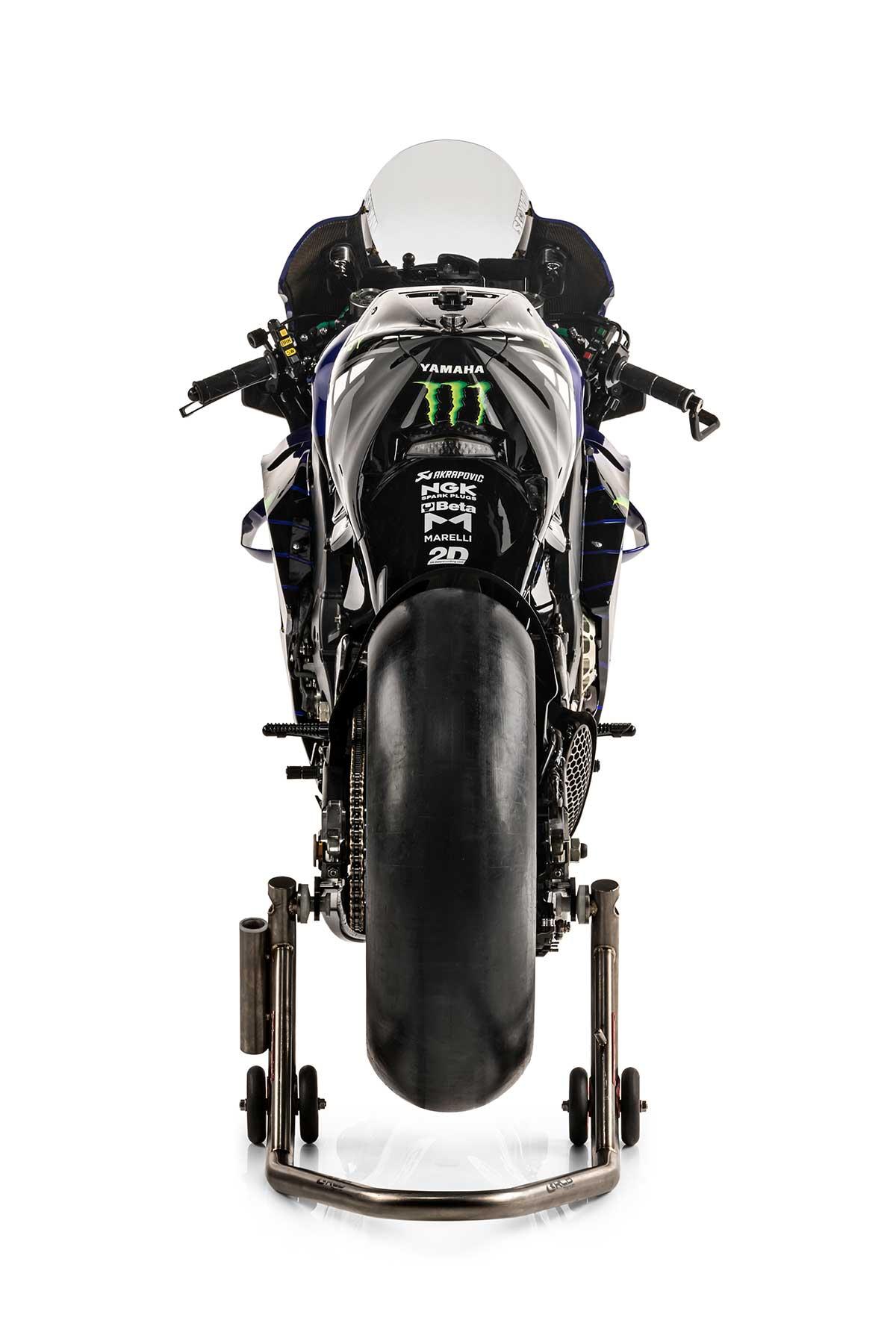 2021年MotoGP:ヤマハYZR-M1(モンスターエナジー・ヤマハMotoGP)