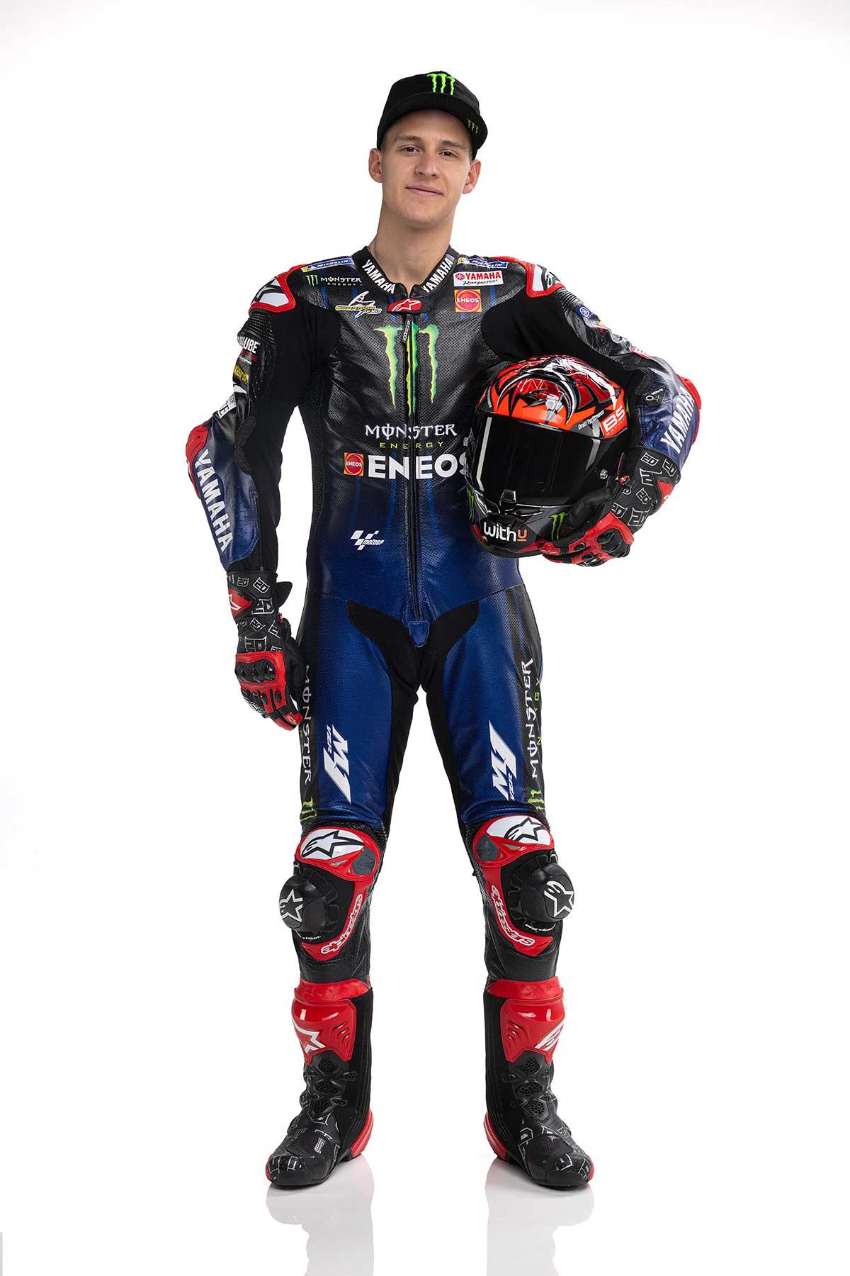 2021年MotoGP:ファビオ・クアルタラロ(モンスターエナジー・ヤマハMotoGP)