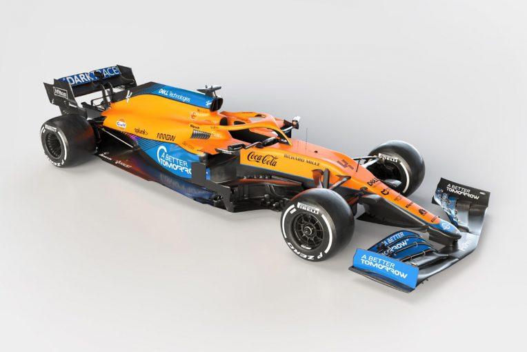 F1 | マクラーレンF1チーム、2021年型マシン『MCL35M』を発表。メルセデス製パワーユニットを搭載