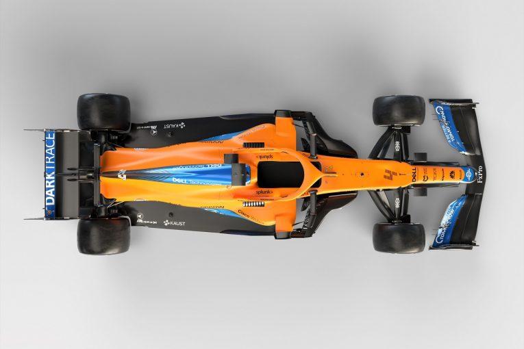 F1 | マクラーレンF1『MCL35M』:開発制限下でも「ほぼニューマシン」。メルセデスPU統合に取り組みベストなパッケージを実現