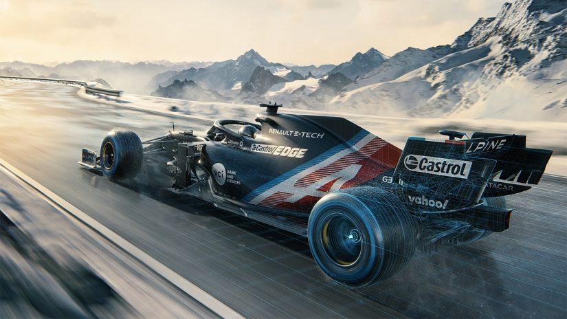 F1 | アルピーヌF1、2021年型マシン『A521』を3月2日に発表へ。初始動のサウンドも披露