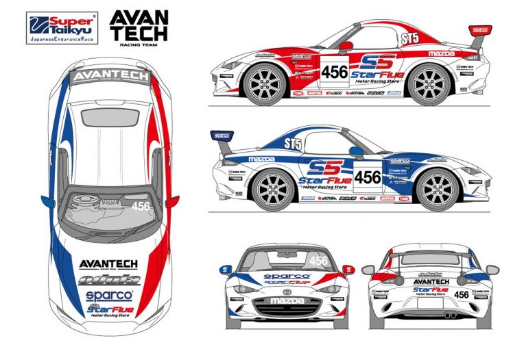 国内レース他 | ロードスターでスーパー耐久を戦うAVANTECH racing team.が2021年参戦体制を発表