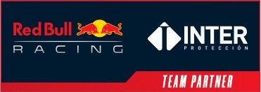 レッドブル・レーシングとインタープロテクションのパートナーシップを示すロゴ