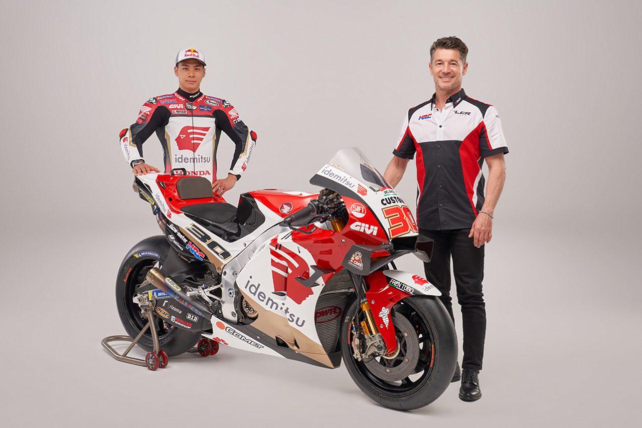 LCRホンダ・イデミツ、中上貴晶が駆る2021年型マシン『RC213V』を公開/MotoGP