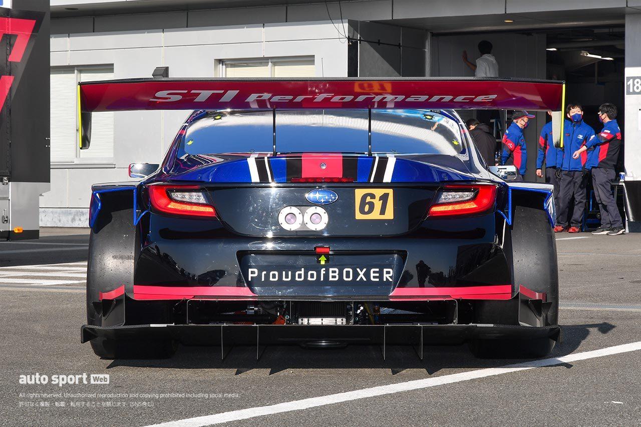 スバル、スーパーGTに挑む新型BRZ GT300のカラーリングと体制をお披露目。王座獲得を目指す
