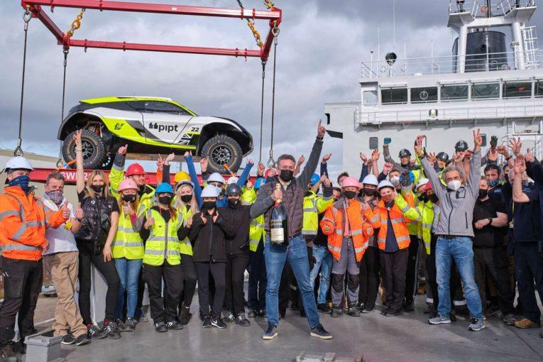 ラリー/WRC | エクストリームEの海上パドック、セント・ヘレナ就航。開幕戦の地に向けリバプールを出港