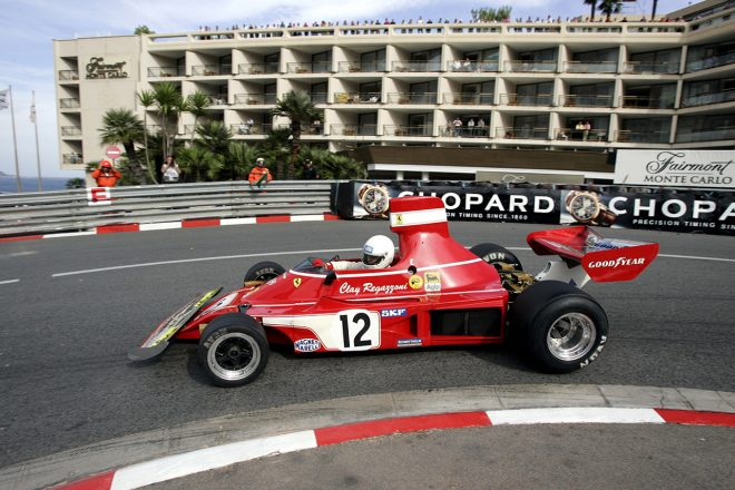 2006年に行われたヒストリック・モナコGPでもドライブされたフェラーリ 312B3