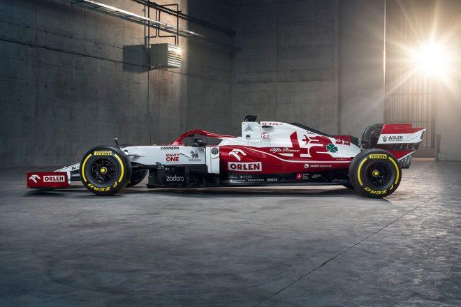 アルファロメオ・レーシング・オーレンの2021年型マシン『C41』