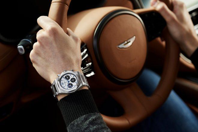 アストンマーティン、スイスの高級時計メーカー『ジラール・ペルゴ』とパートナーシップを締結
