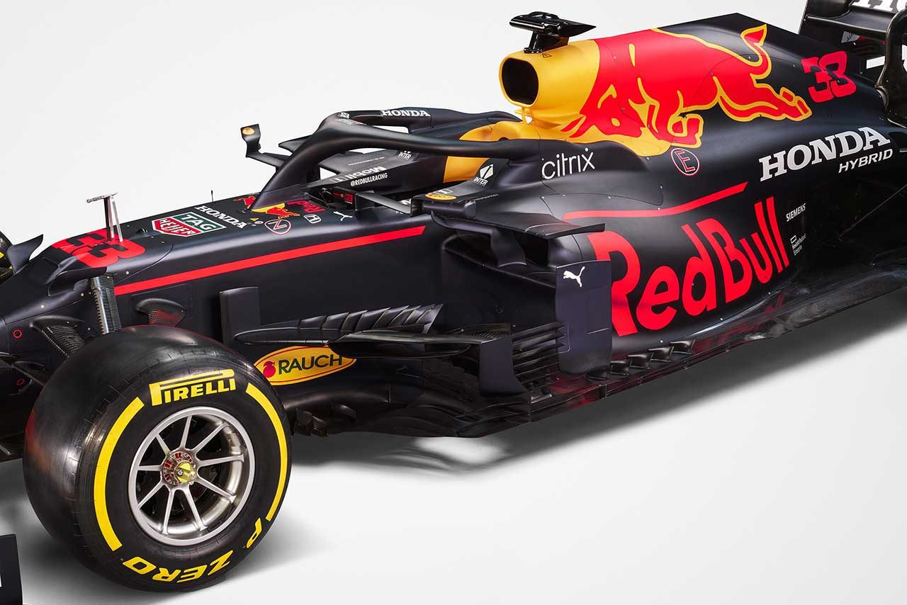 レッドブル・レーシングの2021年型マシン『RB16B』