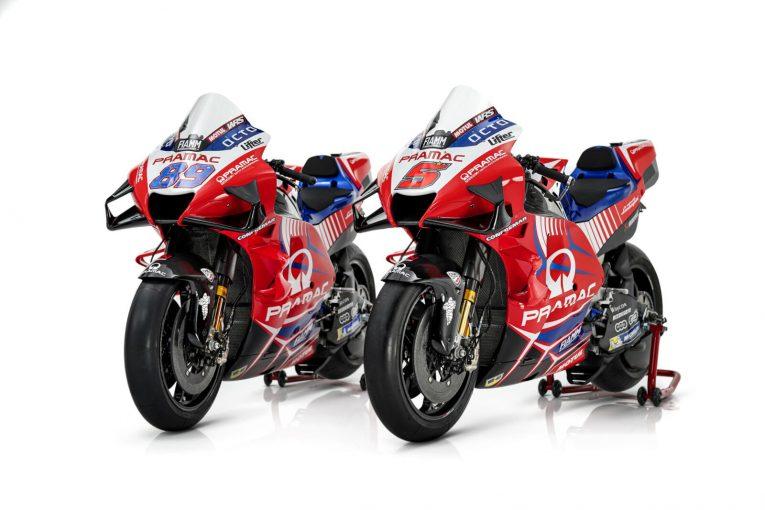 MotoGP   【ギャラリー】プラマック・レーシングの2021年型マシン『ドゥカティ・デスモセディチGP21』/MotoGP