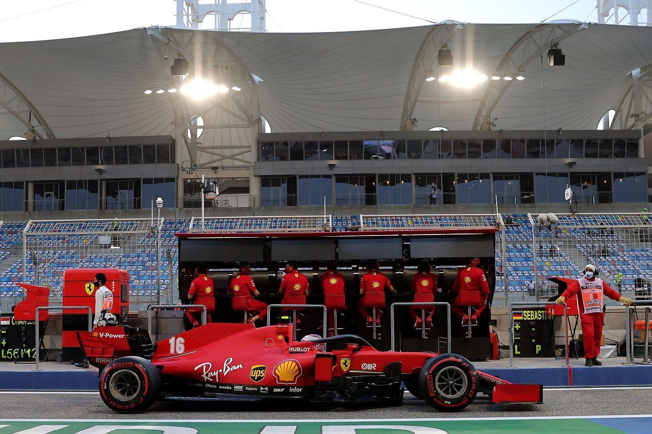 2020年F1バーレーンGP シャルル・ルクレール(フェラーリ)