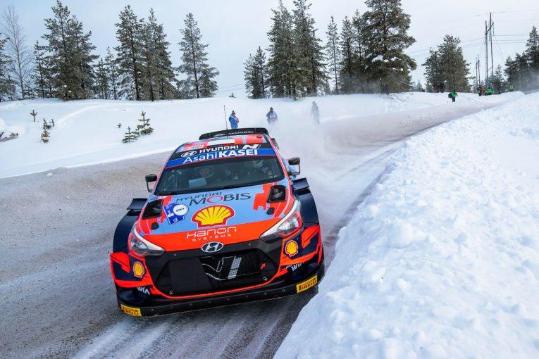 ラリー/WRC   白銀の世界でWRC第2戦アークティックが開幕。勝田貴元がシェイクダウンで3番手