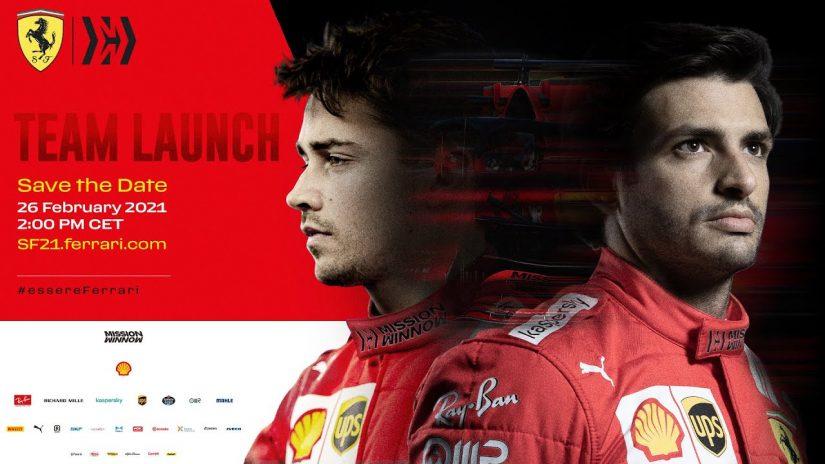 F1 | 【動画】フェラーリF1、新体制のもと始動。ルクレール&サインツJr.のコンビで不振脱却、タイトル争い復帰を目指す