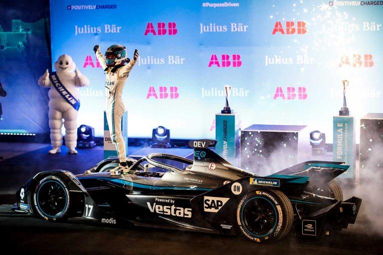 海外レース他 | フォーミュラEシーズン7開幕! メルセデスのデ・フリースが初優勝を挙げ、世界選手権初戦を制す