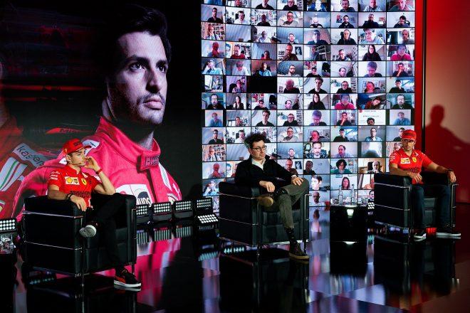 フェラーリF1の2021年体制発表会
