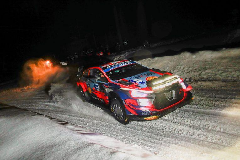 ラリー/WRC | タナクが2SSを制す好スタート。WRC第2戦アークティック初日はヒュンダイが1-2