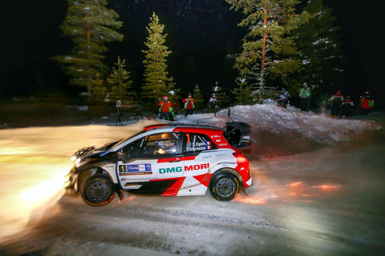 タナクが2SSを制す好スタート。WRC第2戦アークティック初日はヒュンダイが1-2