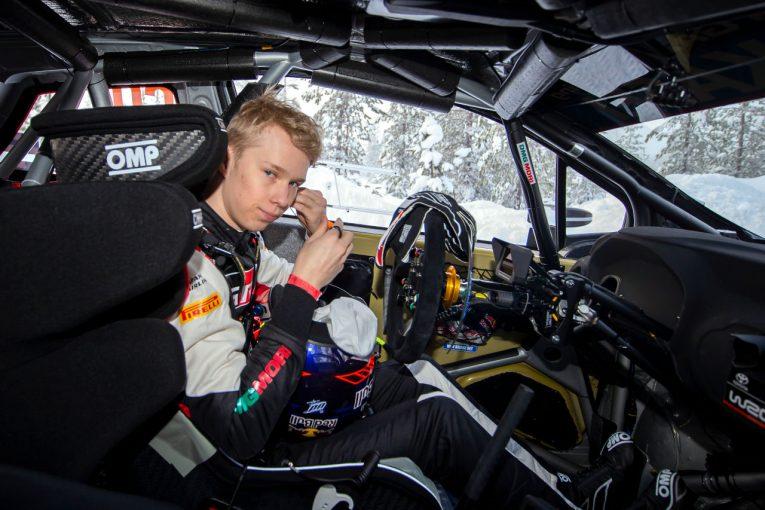 ラリー/WRC | トヨタのロバンペラ「ラインが膨らみ、雪壁に突っ込んでしまった」/WRC第2戦アークティック デイ1後コメント