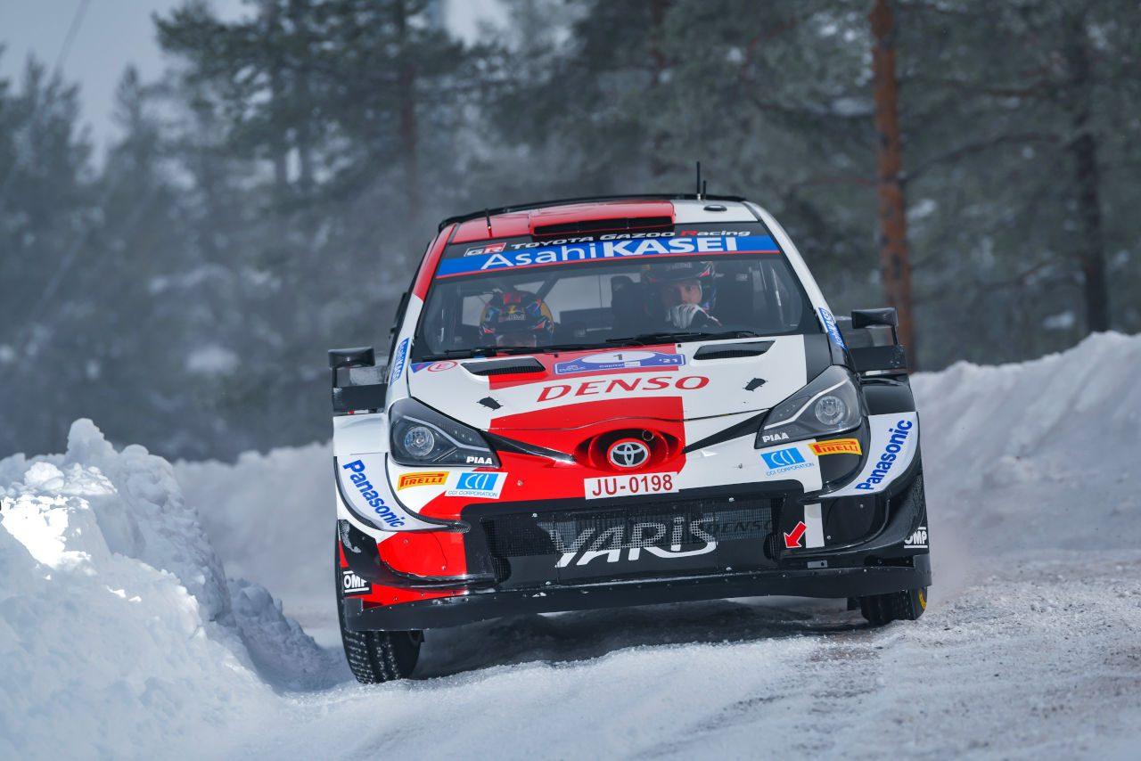 トヨタのロバンペラ「ラインが膨らみ、雪壁に突っ込んでしまった」/WRC第2戦アークティック デイ1後コメント