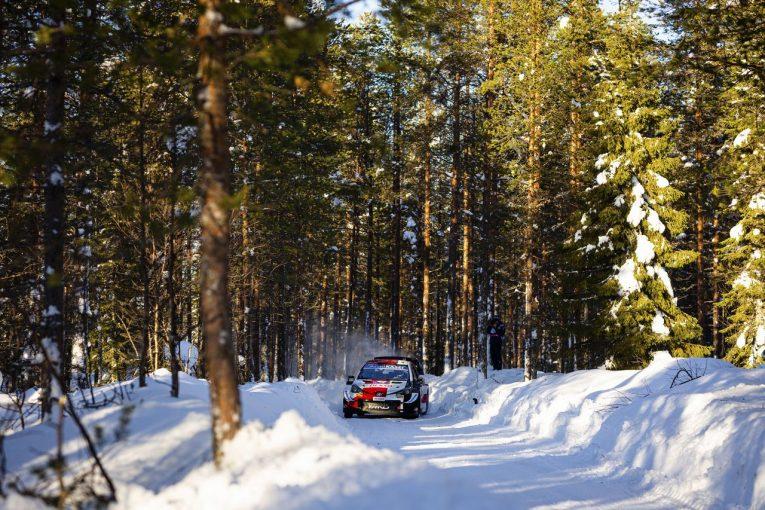 ラリー/WRC   【順位結果】2021年WRC第2戦アークティック SS8後