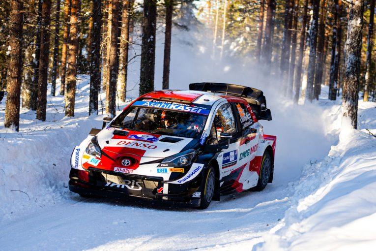 ラリー/WRC | トヨタの若手ロバンペラが2番手浮上。WRC第2戦最終日は「彼に合ったステージだと思う」とラトバラ