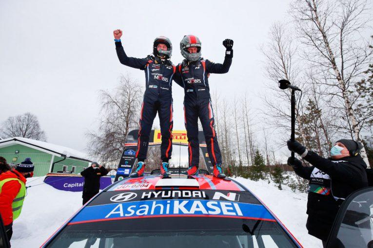 ラリー/WRC | 【順位結果】2021年WRC第2戦アークティック SS10後