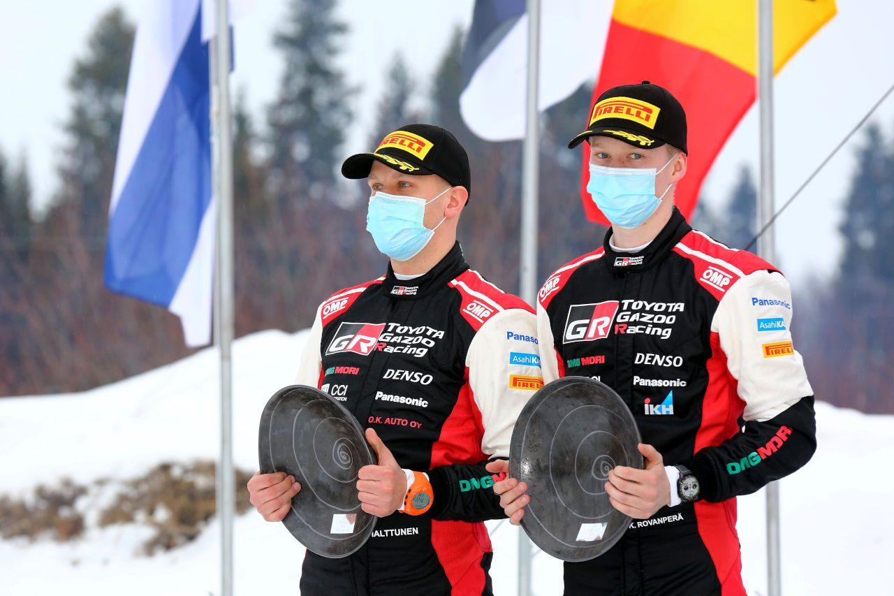 ロバンペラが自己ベスト2位で選手権トップ浮上。トヨタ、WRC第2戦を終え両タイトル首位を維持
