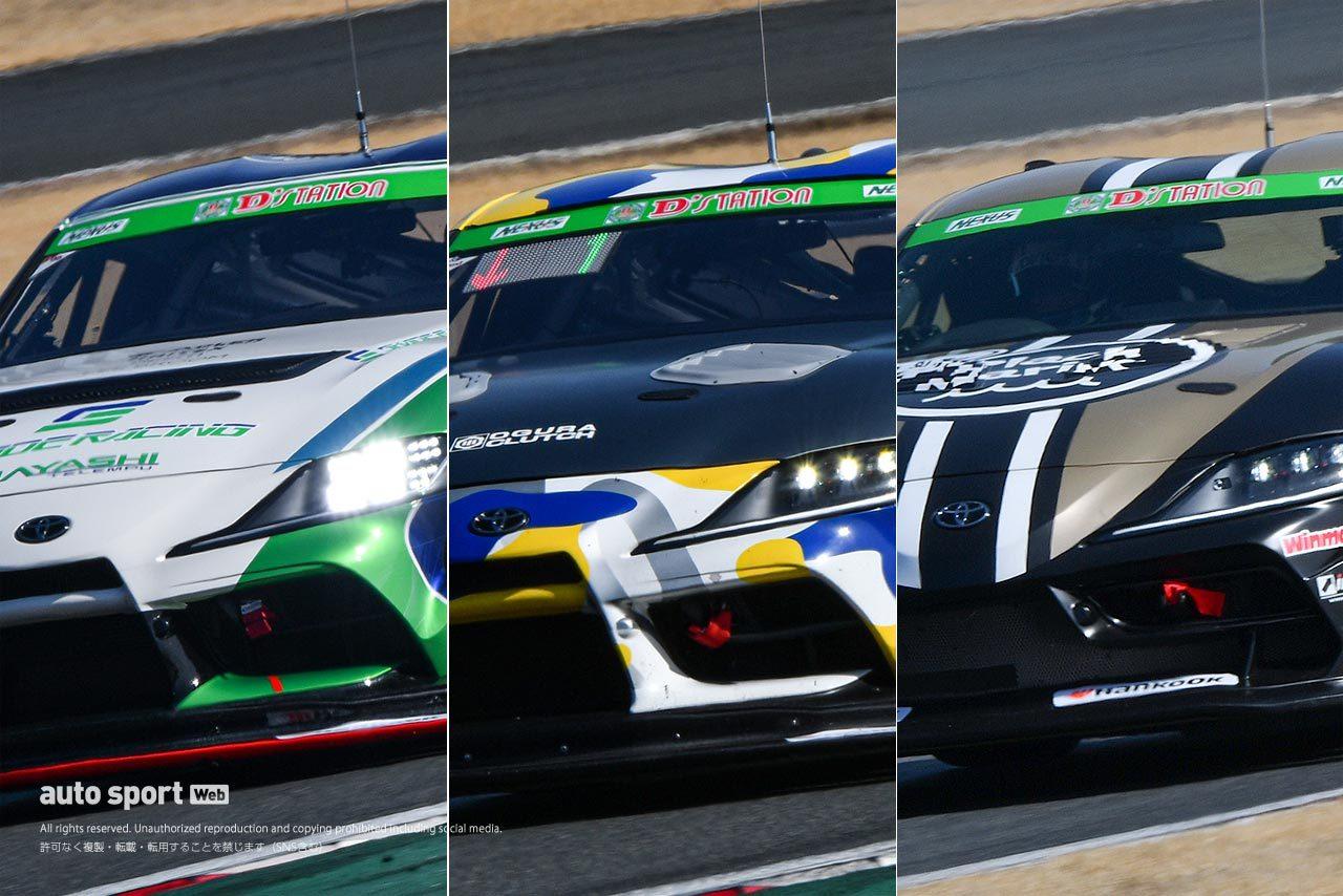 スーパー耐久に登場する3クラス・3種類のGRスープラ。それぞれに特色と狙いあり