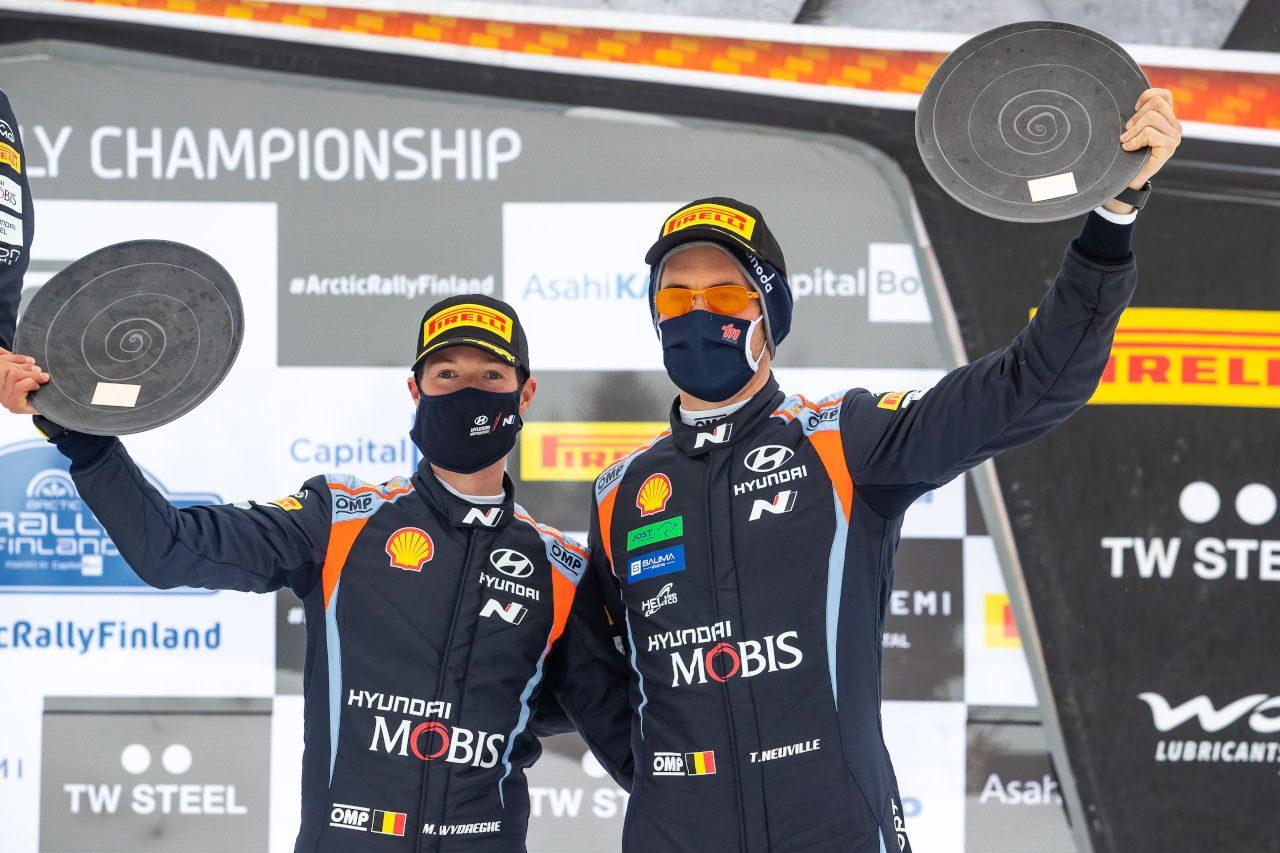 ロバンペラの存在が「プレッシャーになったのは確か」とタナク/WRC第2戦アークティック デイ3後コメント
