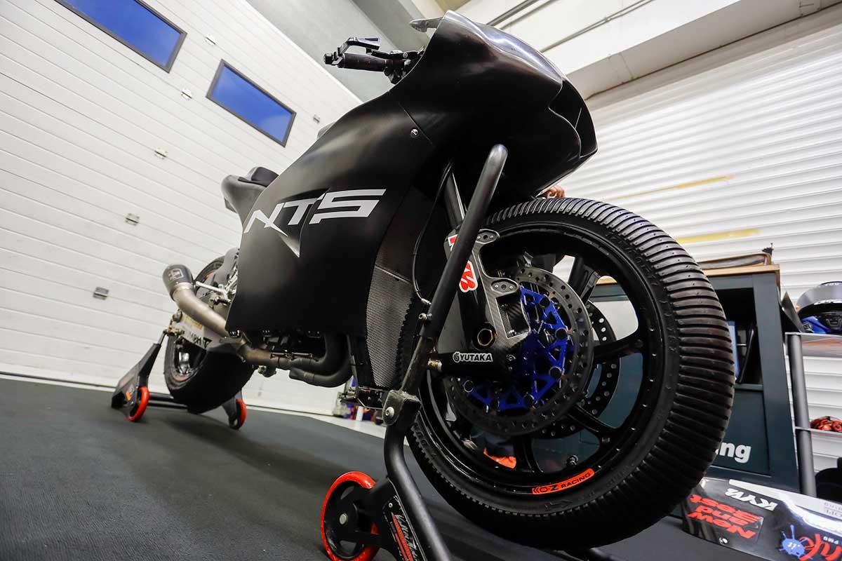 2020年MotoGPシーズン終了後のMoto2へレステスト:NTS RW Racing GP