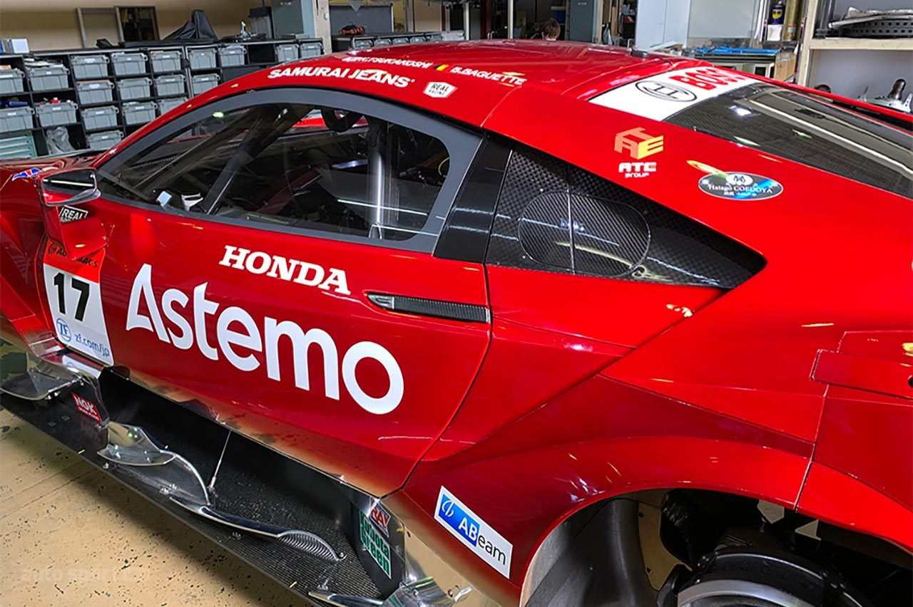 Astemo REAL RACING、ファン向けに2021年のAstemo NSX-GTのカラーリングを先行公開
