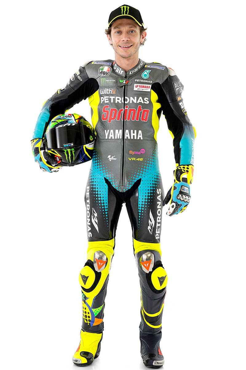 2021MotoGP:バレンティーノ・ロッシ(ペトロナス・ヤマハSRT)