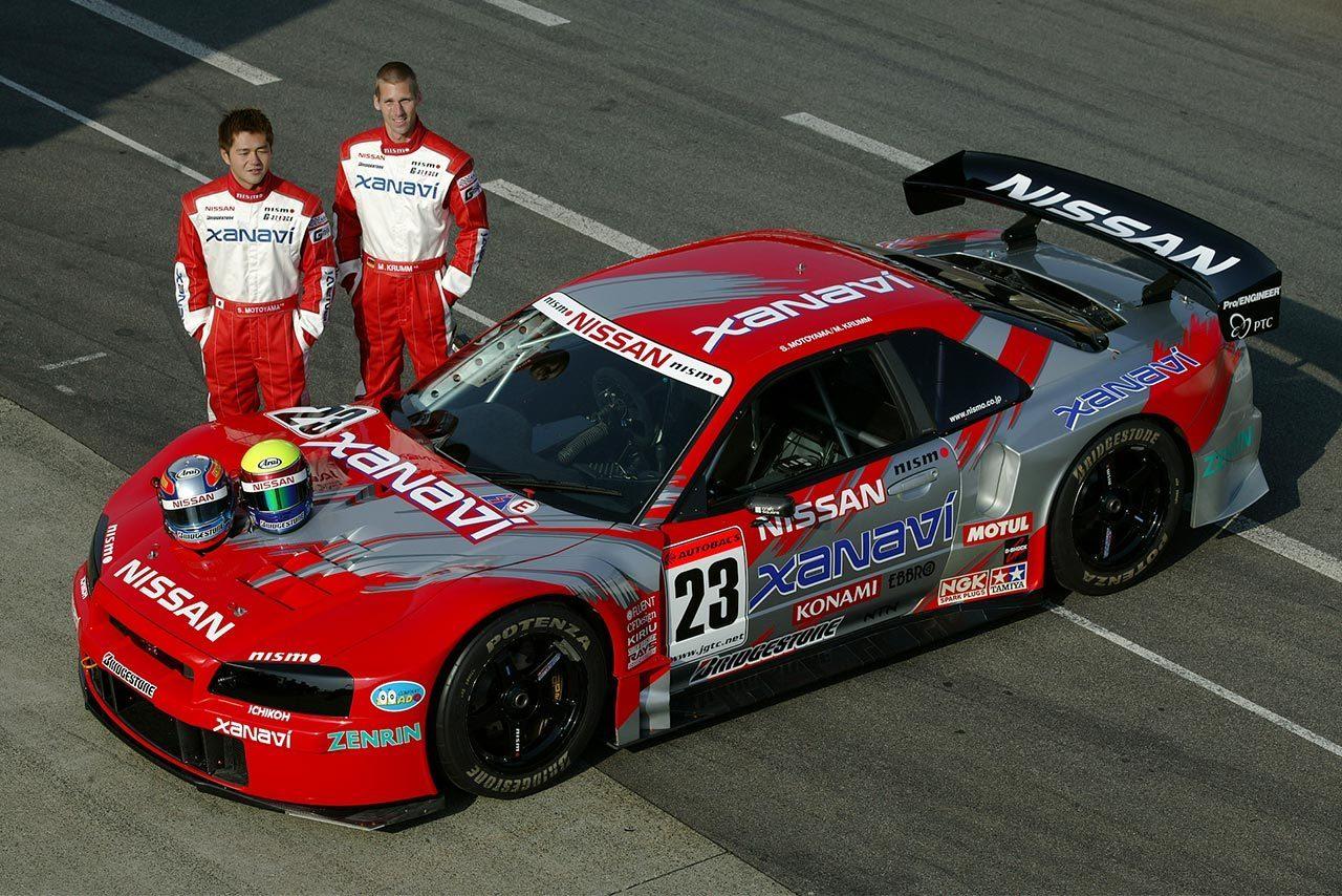 2003年にチャンピオンを獲得したザナヴィ・ニスモGT-R(本山哲/ミハエル・クルム)